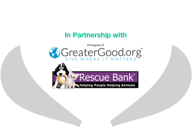 In Partnership With GreaterGood.org